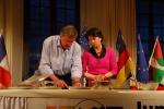 Hildebrecht Braun (FDP) und Barbara Lochbihler (Grüne)