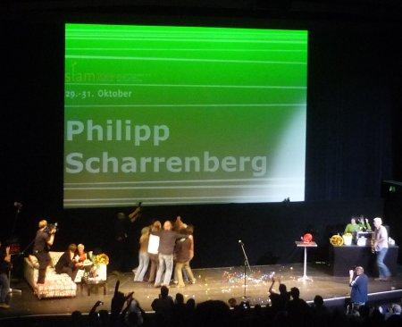 Finale: Philipp Scharrenberg wird gefeiert