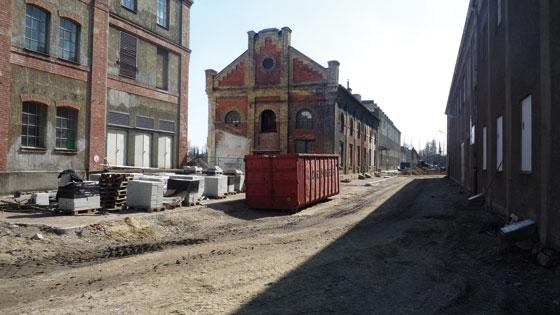 Textilviertel: Alte Schmiede gegenüber vom tim-Museum