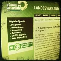 Digitaler Wandel - zukunftskongress der bayerischen Grünen in Augsburg