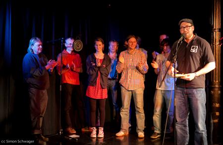 Das große Finale mit allen Autoren des Abends