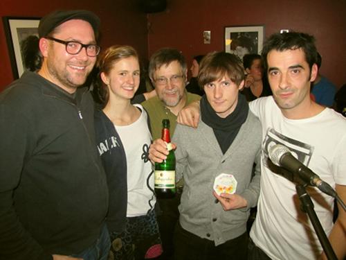 Horst Thieme, Sarah Maria Nordt, Michael Friedrichs, Chris Weiblen und Fabio Esposito Faces